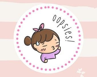 OOPSIES! Grab Bags Planner Stickers