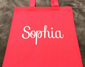 PERSONALIZED TOTE BAGS, Swag bags, Custom Tote Bag