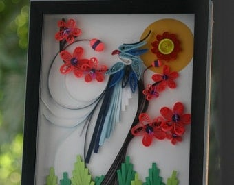 Nature Bird - Quilling Art
