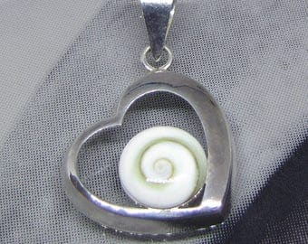 Women 925 sterling silver and Shiva eye/Silver shiva eye pendant