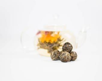 5 Flavored Blooming Teas