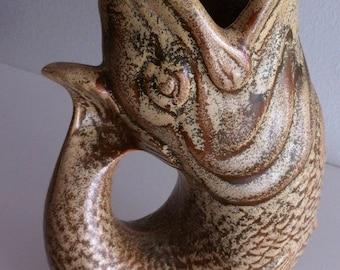 Grugling Fish Vase DEVON Dartmouth England