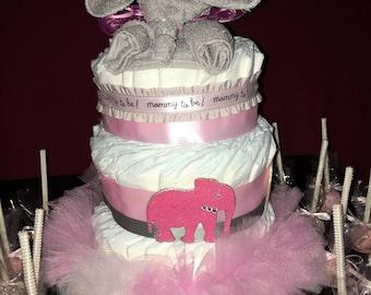 Custom Made Diaper Cakes