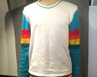 Rainbow Techno Future Shirt - Long Sleeves