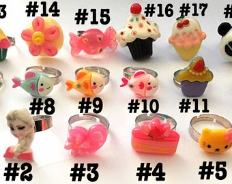 Kawaii rings