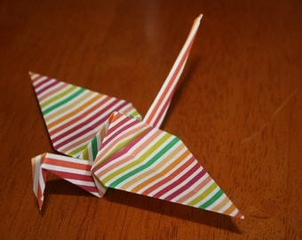 20 Origami Crane Wedding Favors Bright Colors BC1/7