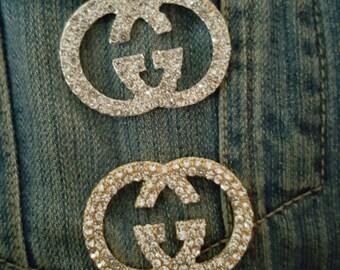 Gucci inspired 3d flair pins lapel pin tack pin pin tie tack pin fashion inspired shirt collar pins collar lapel shirt pins