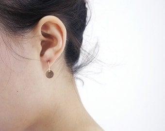 Tiny Gold Filled Earrings,Disco Earrings,Minimalist Earrings,Casual Earrings
