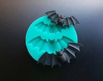 Creepy Bats Silicone mold