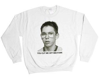 Freaks And Geeks Bill Haverchuck Sweatshirt - AV Club Nerd Sweater - Mens Womens - Holiday Sweater Pullover Oversize Sweat Shirt
