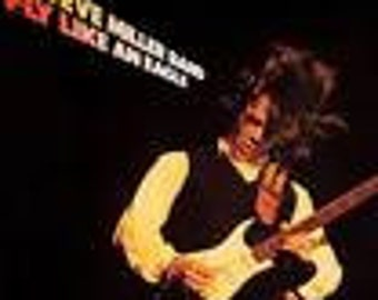 Steve Miller Band vinyl record - Original - Fly like an Eagle vinyl - Prestige Record in VG+  Condition