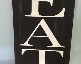 EAT | Kitchen Decor | Eat sign