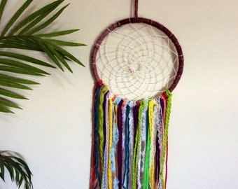 Gypsie rainbow dream catcher