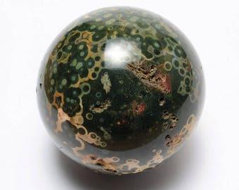 Polished Ocean Jasper Ball