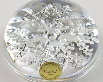 Avon Crystal Paperweight