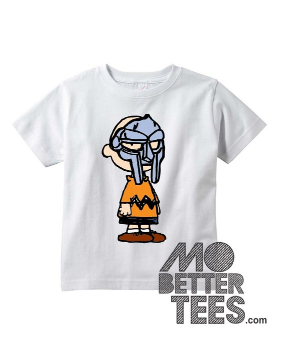 Charlie MF Doom Toddler or Youth T-Shirt white