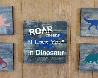 "Roar means ""I Love You"" in Dinosaur"