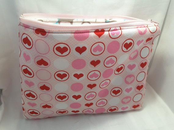 pink hearts clutch, pink hearts bag, pink hearts handbag , hearts purse