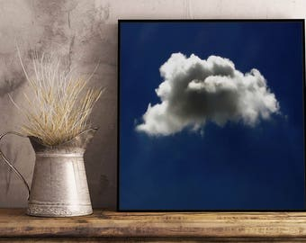 Cloud II Artwork - Framed / Unframed canvas / Print