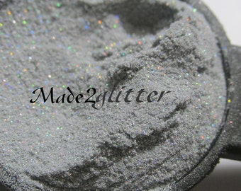 Ultra Fine Holographic Silver Dust in 0.001