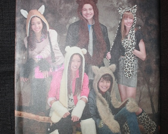 Simplicity 1795   Misses, Men's, Teens Animal Hats with Leg and Arm Warmers