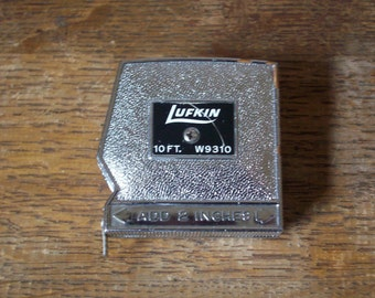 Vintage Lufkin 10ft. Steel Tape Measure