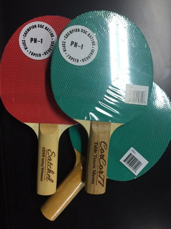 Personalized Ping Pong Paddles