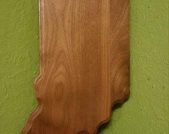 Indiana Wood Wall Plaque