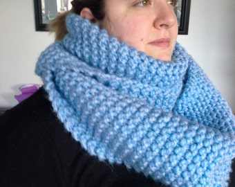 Stocking Stitch Knitted cowl