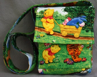 Disney Winnie the Pooh Purse - Shows Pooh, Piglet, Tigger and Eeyore
