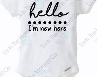 hello I'm new here Onesie