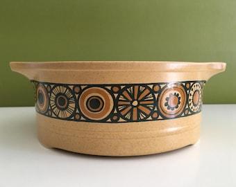 Vintage Kiln Craft Bacchus Casserole Dish