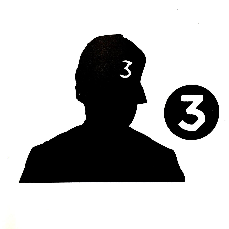 Chance the rapper silhouette vinyl Coloring book chance the rapper vinyl