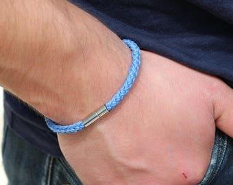 Men's Bracelet Obsidian Mens Beaded Bracelet Mens 4mm Beads Bracelet Mens Bead Bracelet Men's Obsidian Bracelet Men's Minimalist Bracelet
