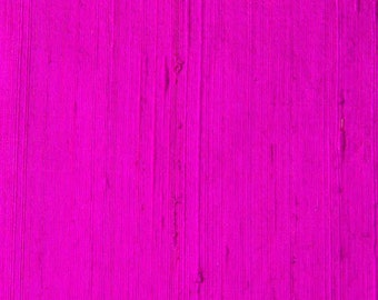 Magenta Dupion Raw Silk-60-70 Grams Fabric