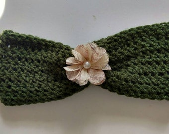 Flower Winter headband