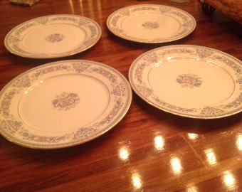 Oxford Fontaine Dinner Plates Set of Four