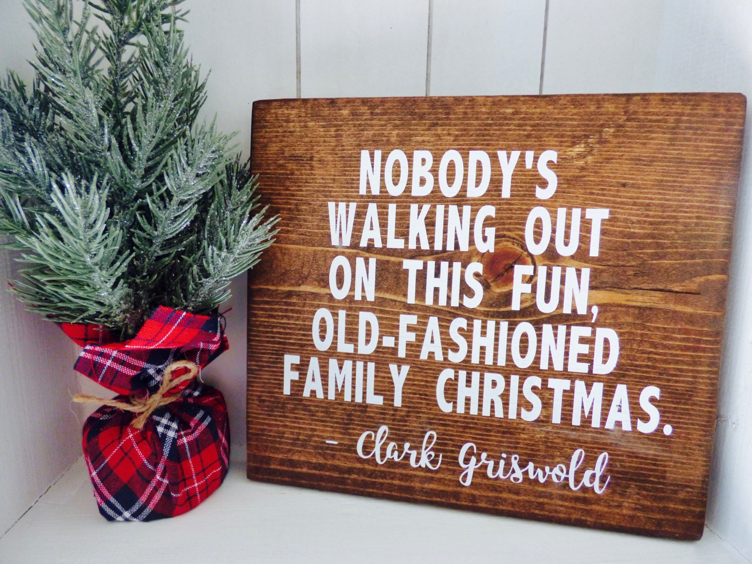 National Lampoons Christmas Vacation Outdoor Decorations : Christmas vacation wood sign by remiscrafts