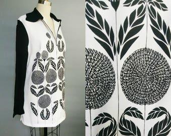 marigold / pullover tunic / mini dress / medium