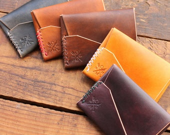 Gun Deck™ Wallet --  Hand-dyed Veg Tan
