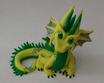 Yellow and green dragon