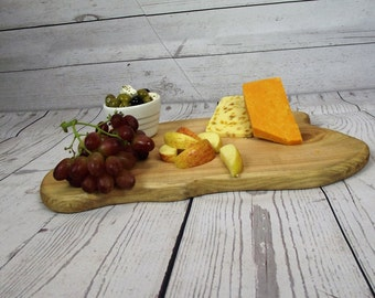 Wooden Serving Platter - wedding table center -Wood table center -Chopping Board - Cheese Board - Serving Board -Tray - Anniversary