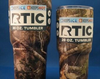 RTIC Camo Tumblers