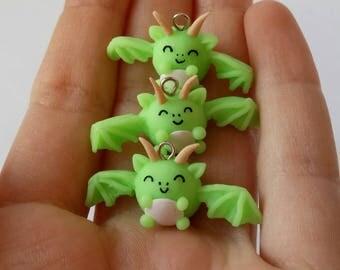 Fluorescent Green Dragons