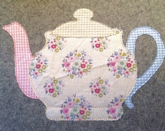 Teapot Doodle embroidery file