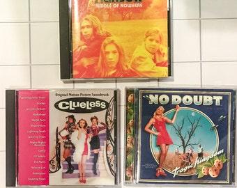 1990s CDs - trio - vintage
