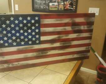 Small American Flag Concealment Case