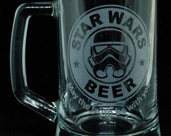 Star Wars Beer Tankard - Star Wars - Starbucks Parody Tankard