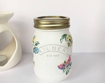 Cath Kidston Highgate Rose Floral 0.5L Kilner Jar
