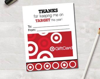 Gift Card Holder, Target